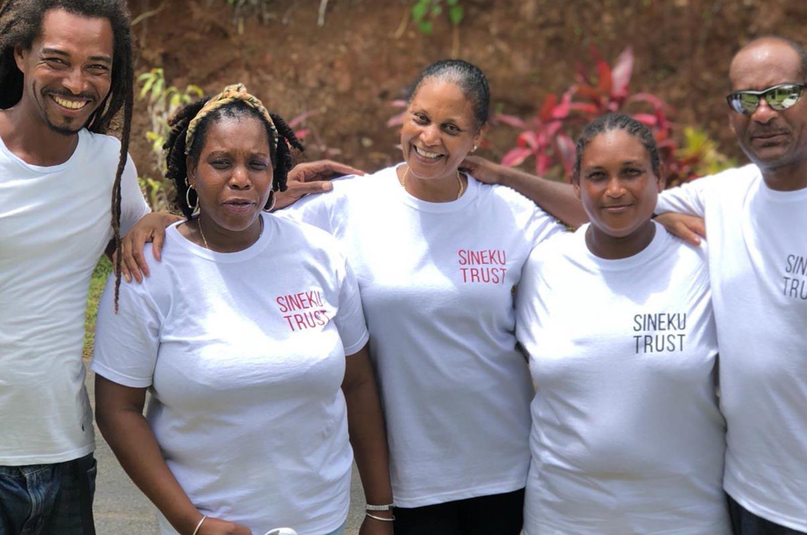 Sineku Trust 2019 Group visit to Dominica